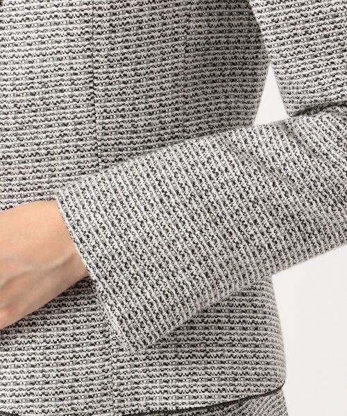 23区 / ニジュウサンク テーラードジャケット   【セットアップ対応】ライトシャインツイード テーラードジャケット   詳細13