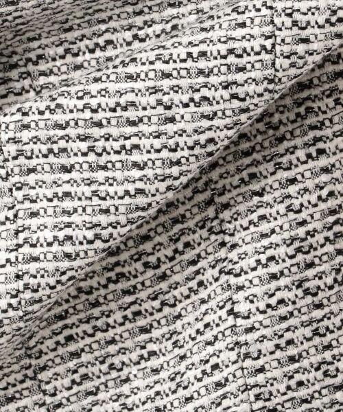 23区 / ニジュウサンク テーラードジャケット   【セットアップ対応】ライトシャインツイード テーラードジャケット   詳細17