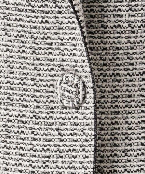 23区 / ニジュウサンク テーラードジャケット   【セットアップ対応】ライトシャインツイード テーラードジャケット   詳細8