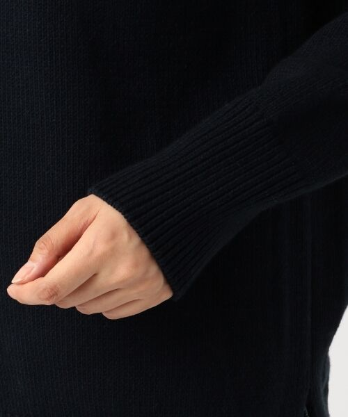 23区 / ニジュウサンク ニット・セーター | 【洗える】コットンブレンドコード チュニック ニット | 詳細10