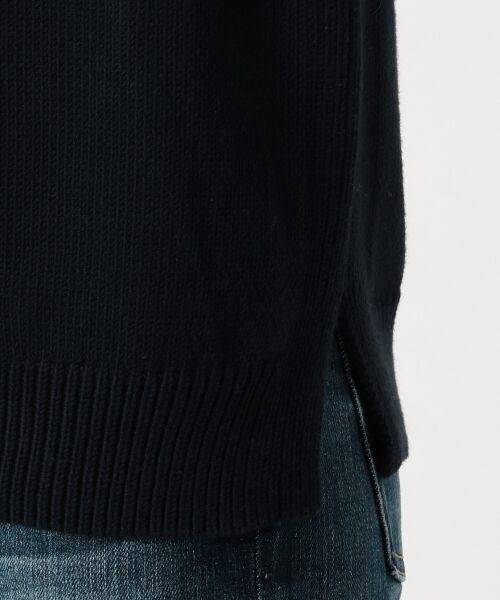 23区 / ニジュウサンク ニット・セーター | 【洗える】コットンブレンドコード チュニック ニット | 詳細11
