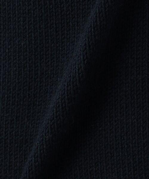 23区 / ニジュウサンク ニット・セーター | 【洗える】コットンブレンドコード チュニック ニット | 詳細12