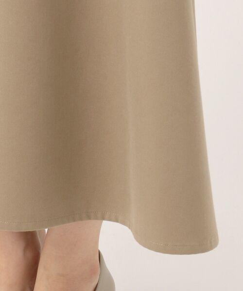 23区 / ニジュウサンク ミニ・ひざ丈スカート | 【洗える】コーマ チノクロス フレアスカート | 詳細11