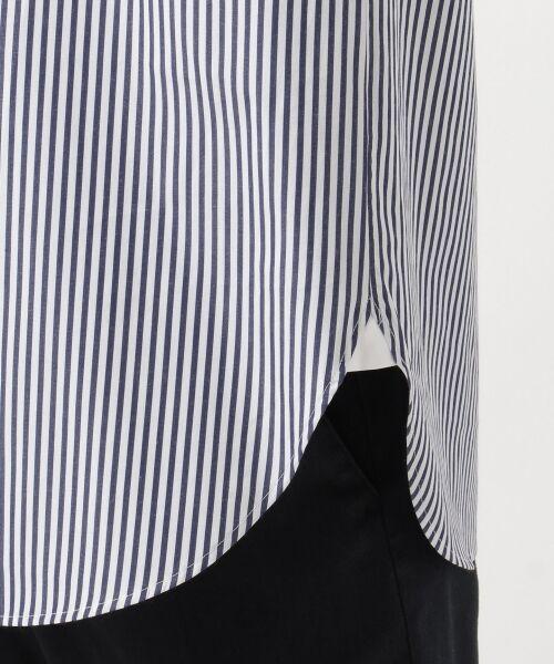 23区 / ニジュウサンク トップス | 【マガジン掲載】CANCLINI ストライプチュニックシャツ(検索番号F33) | 詳細9