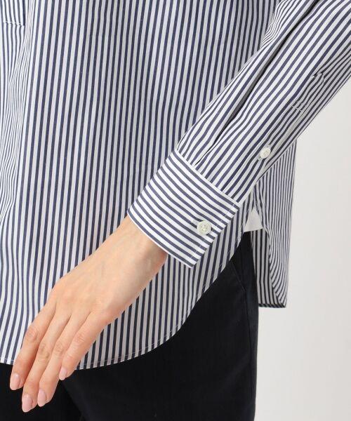 23区 / ニジュウサンク トップス | 【マガジン掲載】CANCLINI ストライプチュニックシャツ(検索番号F33) | 詳細8