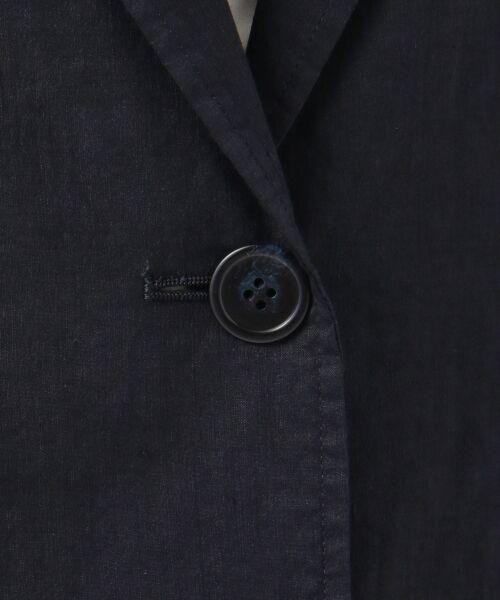 23区 / ニジュウサンク テーラードジャケット | 【マガジン掲載】リネンヴィスコースストレッチ テーラードジャケット | 詳細10