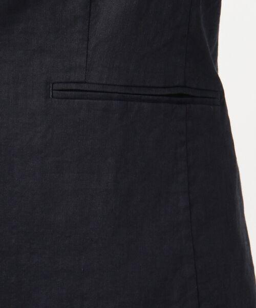 23区 / ニジュウサンク テーラードジャケット | 【マガジン掲載】リネンヴィスコースストレッチ テーラードジャケット | 詳細8