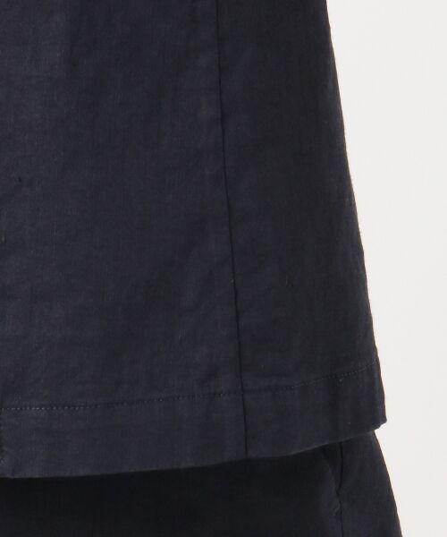 23区 / ニジュウサンク テーラードジャケット | 【マガジン掲載】リネンヴィスコースストレッチ テーラードジャケット | 詳細9