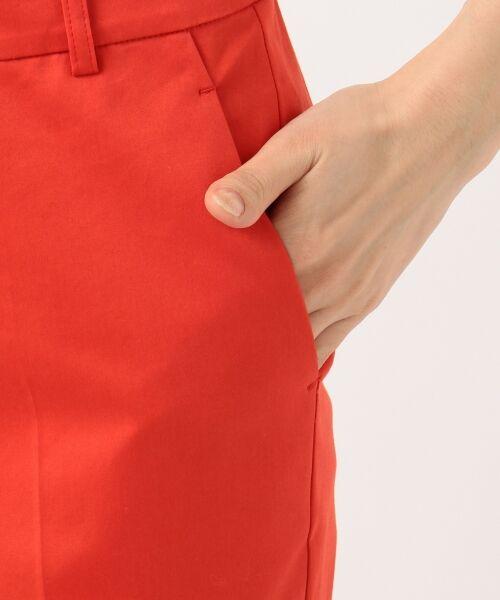 23区 / ニジュウサンク その他パンツ | 【洗える】60サテンストレッチ テーパード パンツ | 詳細21