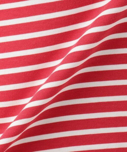 23区 / ニジュウサンク Tシャツ | 【中村アンさん着用】ALBINI コットンボーダー2WAY カットソー | 詳細14