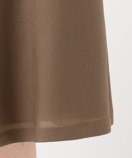 23区 / ニジュウサンク ミニ・ひざ丈スカート | 【洗える】ブライトスラブツイル ラップスカート | 詳細7