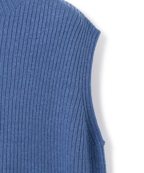 23区 / ニジュウサンク ニット・セーター | 【洗える】リネンシルクリブノースリーブ プルオーバー | 詳細13
