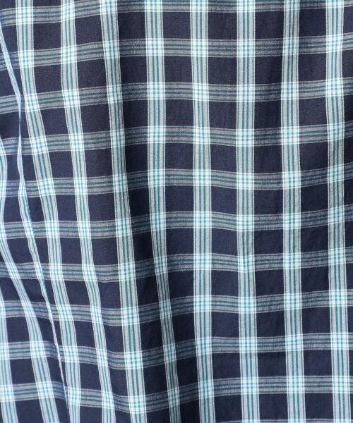 23区HOMME / ニジュウサンク オム シャツ・ブラウス | オリジナルチェック クレリックシャツ | 詳細7