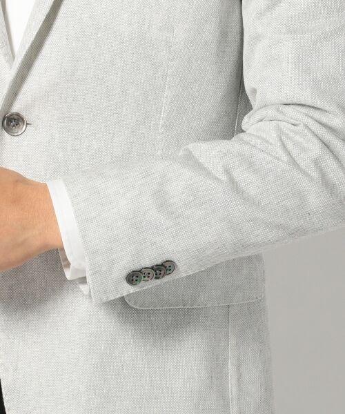 23区HOMME / ニジュウサンク オム テーラードジャケット | 【盛夏対応】【洗える】QDバンブーラッセル ジャケット | 詳細5