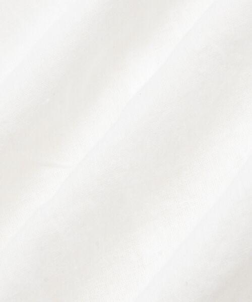 NIMES / ニーム ロング・マキシ丈ワンピース | Voile/Dobby 前あきワンピース | 詳細8