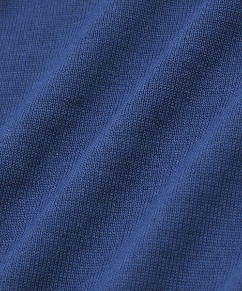 NIMES / ニーム ニット・セーター | 14G天竺/ワイドリブ クルーネックP/O | 詳細5
