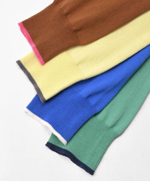 NIMES / ニーム ニット・セーター | 16G天竺 肩釦プルオーバー | 詳細8