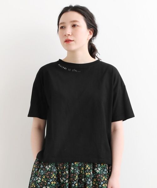 NIMES / ニーム Tシャツ | 32コットン 刺繍Tシャツ | 詳細1