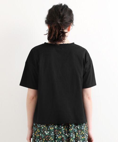 NIMES / ニーム Tシャツ | 32コットン 刺繍Tシャツ | 詳細3