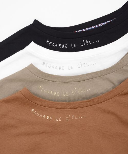 NIMES / ニーム Tシャツ | 32コットン 刺繍Tシャツ | 詳細7