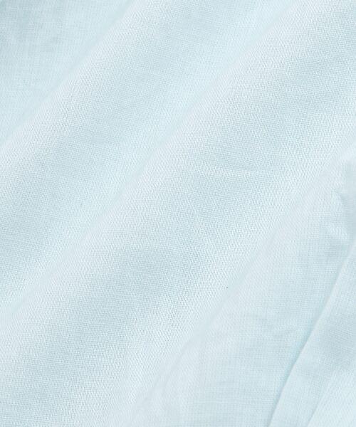 NIMES / ニーム シャツ・ブラウス | Voileラッフル衿BL | 詳細6