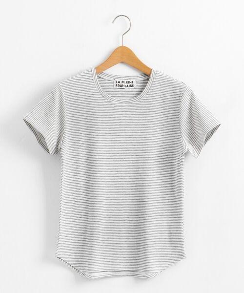 NIMES / ニーム Tシャツ | コーマフライス裾テール半袖Tee | 詳細10