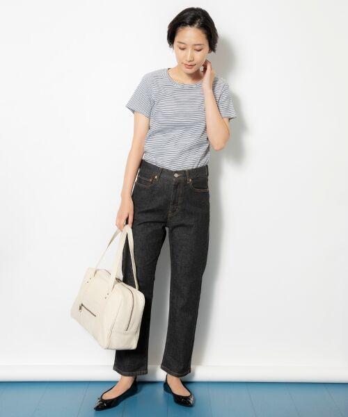 NIMES / ニーム Tシャツ | コーマフライス裾テール半袖Tee | 詳細13