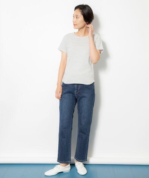 NIMES / ニーム Tシャツ | コーマフライス裾テール半袖Tee | 詳細14