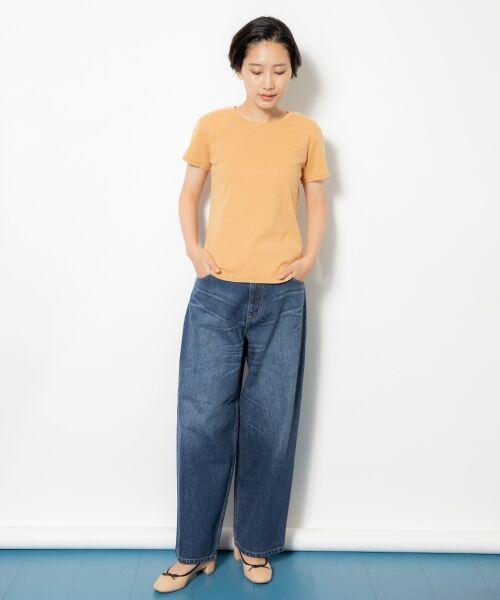 NIMES / ニーム Tシャツ | コーマフライス裾テール半袖Tee | 詳細15