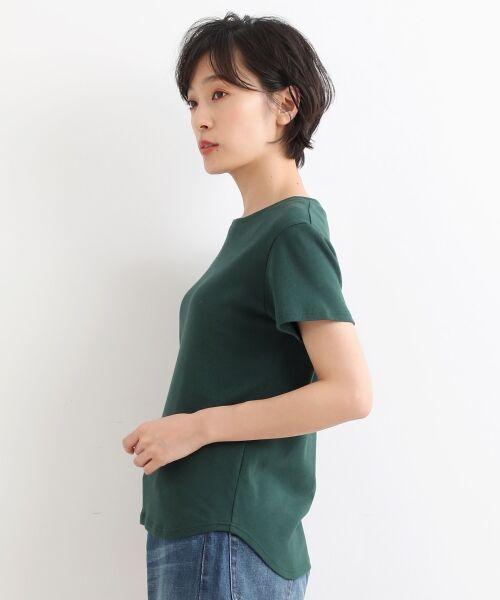 NIMES / ニーム Tシャツ | コーマフライス裾テール半袖Tee | 詳細2