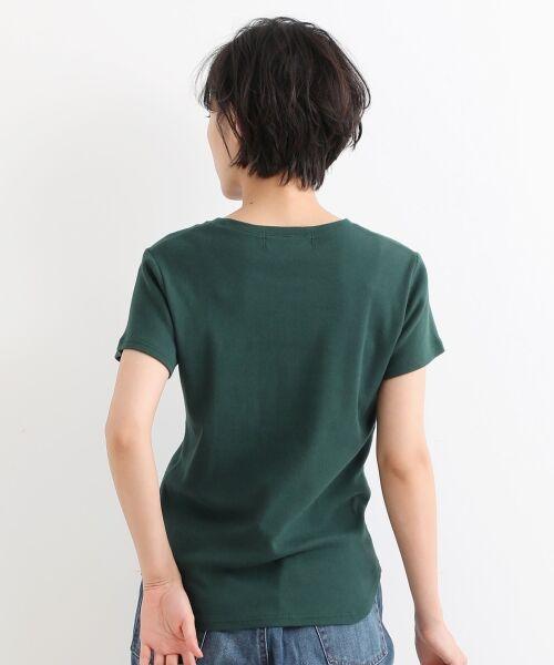 NIMES / ニーム Tシャツ | コーマフライス裾テール半袖Tee | 詳細3