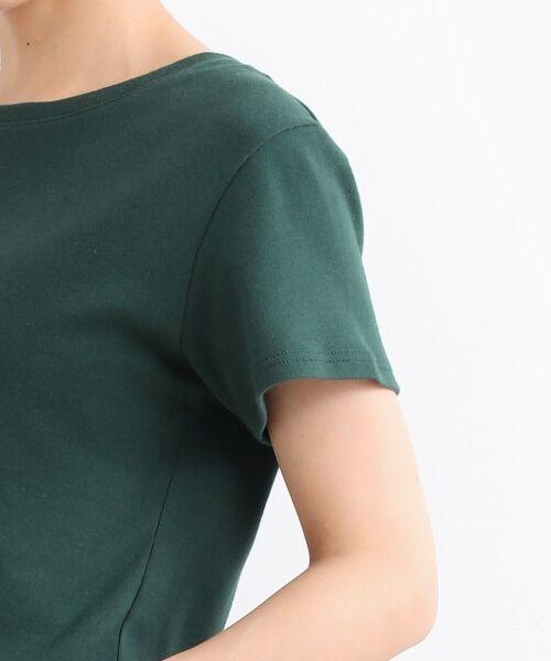 NIMES / ニーム Tシャツ | コーマフライス裾テール半袖Tee | 詳細5