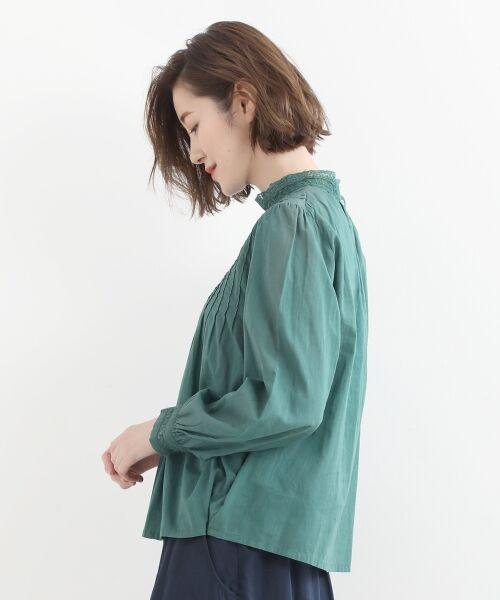 NIMES / ニーム シャツ・ブラウス | Fabrique en Inde 刺繍ブラウス | 詳細2