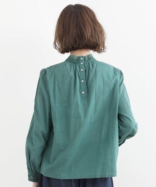 NIMES / ニーム シャツ・ブラウス | Fabrique en Inde 刺繍ブラウス | 詳細3