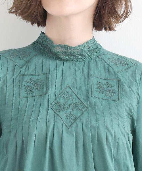 NIMES / ニーム シャツ・ブラウス | Fabrique en Inde 刺繍ブラウス | 詳細4