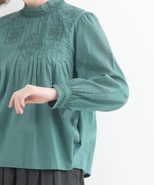 NIMES / ニーム シャツ・ブラウス | Fabrique en Inde 刺繍ブラウス | 詳細5