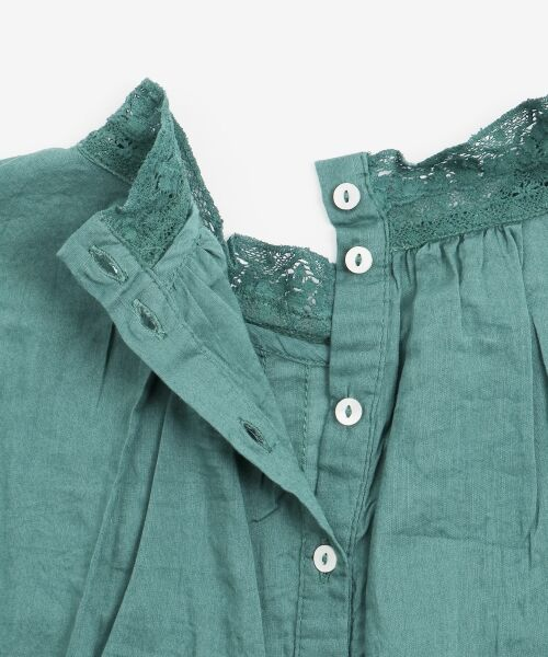 NIMES / ニーム シャツ・ブラウス | Fabrique en Inde 刺繍ブラウス | 詳細6