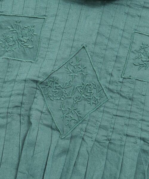 NIMES / ニーム シャツ・ブラウス | Fabrique en Inde 刺繍ブラウス | 詳細7