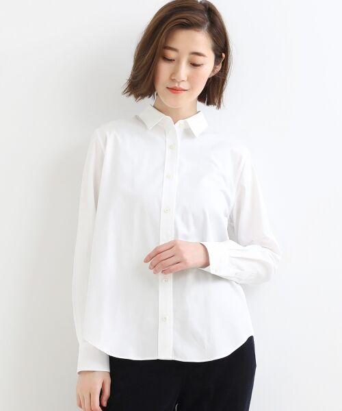 NIMES / ニーム シャツ・ブラウス   Francaise traditionalシャツ(オフ)