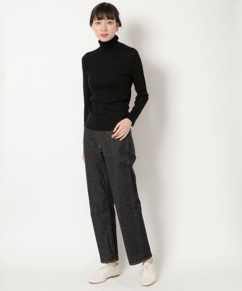 NIMES / ニーム ニット・セーター | Washable wool袖釦タートルネック | 詳細10