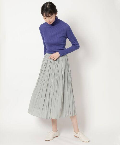NIMES / ニーム ニット・セーター | Washable wool袖釦タートルネック | 詳細11