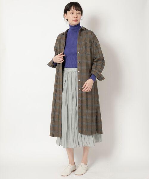 NIMES / ニーム ニット・セーター | Washable wool袖釦タートルネック | 詳細12