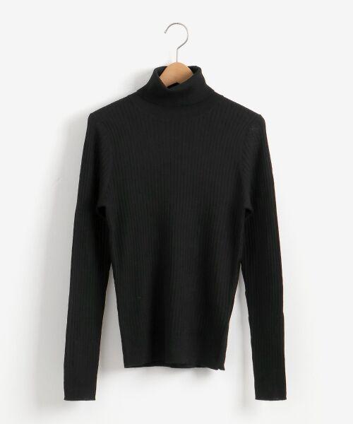 NIMES / ニーム ニット・セーター | Washable wool袖釦タートルネック | 詳細13