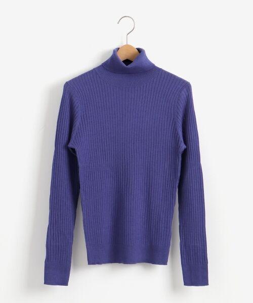 NIMES / ニーム ニット・セーター | Washable wool袖釦タートルネック | 詳細14