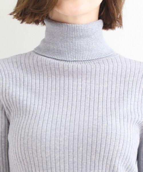 NIMES / ニーム ニット・セーター | Washable wool袖釦タートルネック | 詳細4