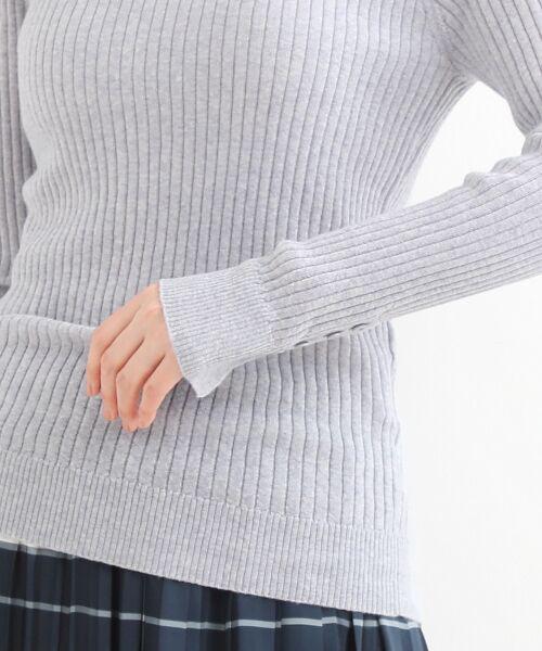 NIMES / ニーム ニット・セーター | Washable wool袖釦タートルネック | 詳細5