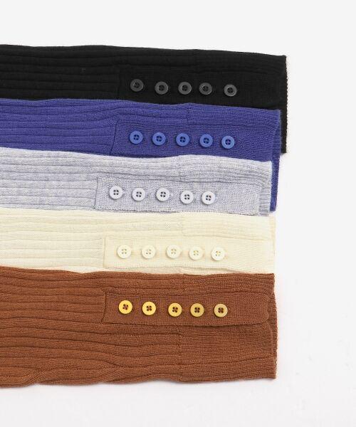 NIMES / ニーム ニット・セーター | Washable wool袖釦タートルネック | 詳細7