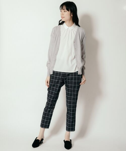 NIMES / ニーム カーディガン・ボレロ | Washable woolVネックカーディガン | 詳細8