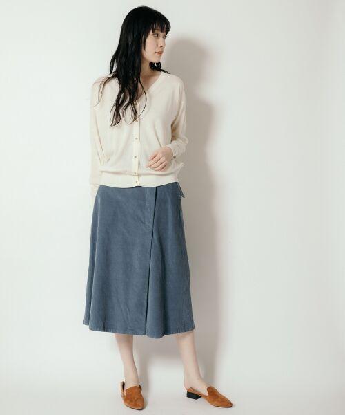 NIMES / ニーム カーディガン・ボレロ | Washable woolVネックカーディガン | 詳細9