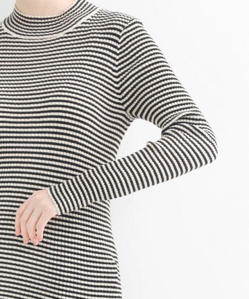 NIMES / ニーム ニット・セーター | コットンアクリルリブ ハイネックプルオーバー | 詳細5
